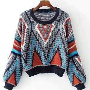 Sweaters - Multicolored sweater